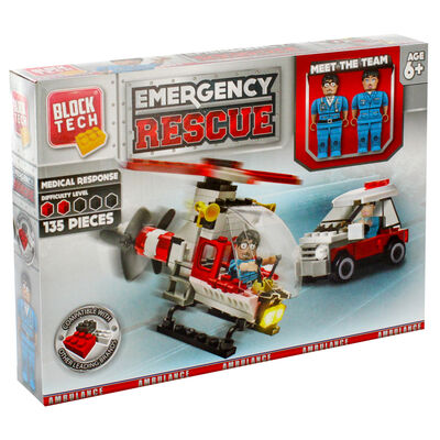 Block Tech Emergency Rescue Set image number 1