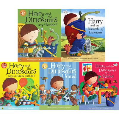 Harry and the Dinosaurs: 10 Kids Picture Books Bundle image number 3