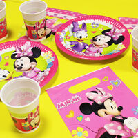Minnie Mouse Plastic Flag Banner