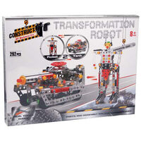 Metal Transformation Robot Model Kit: 292 Pieces