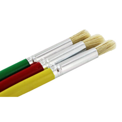 Chunky Paint Brushes - Set Of 3 image number 3