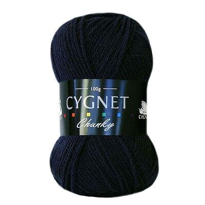 Cygnet Chunky Navy Yarn - 100g image number 1