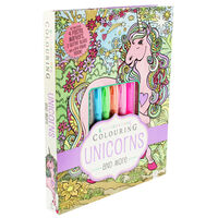 Kaleidoscope Colouring: Unicorns and More