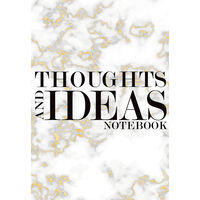 A4 Thoughts and Ideas Notebook