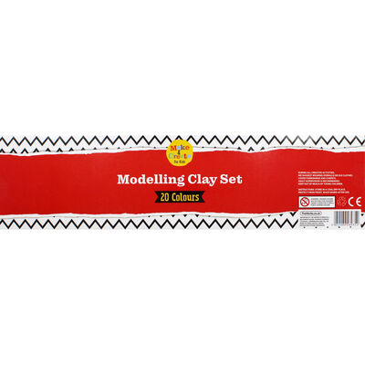 Modelling Clay Set - 20 Colours image number 4