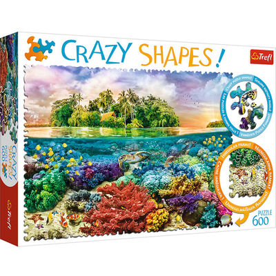 Tropical Island 600 Piece Jigsaw Puzzle image number 1