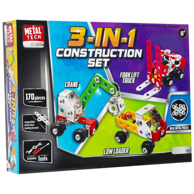 Metal Tech 3-in-1 Construction Set image number 1