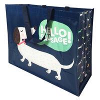 Sausage Dog Reusable Shopping Bag