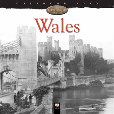 Wales Heritage 2020 Wall Calendar image number 1