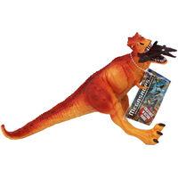 Orange Tyrannosaurus Dinosaur Figurine