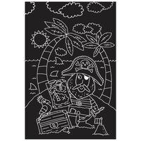 Pirates: Scratch Art