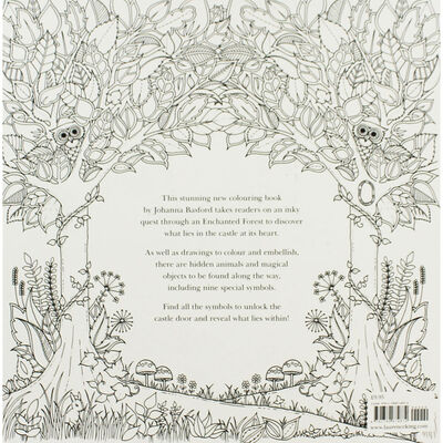 Enchanted Forest: Colouring Book image number 4