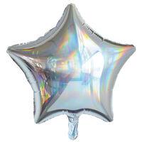 19 Inch Iridescent Star Helium Balloon