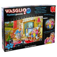 Wasgij Mystery 17 Catching a Break 1000 Piece Jigsaw Puzzle