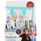 Disney Frozen 2 Colour Your Own Tote Bag image number 1