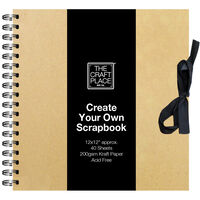Create Your Own Scrapbook - 12x12 Inch