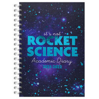 A5 Rocket Science 2021-2022 Day a Page Diary