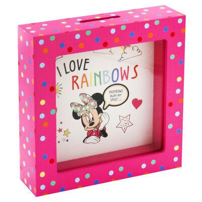 Disney Minnie Mouse Pink Polka Dot Money Box image number 2