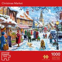 Christmas Market 1000 Piece Jigsaw Puzzle