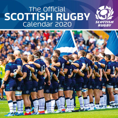 The Official Scottish Rugby Calendar 2020 image number 1