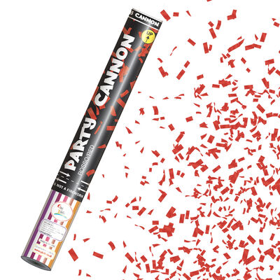 Red Confetti Party Cannon image number 2