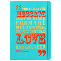 A5 Case Bound PU Love One Another Notebook