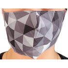 Geo Black & Grey Reusable Face Covering image number 3