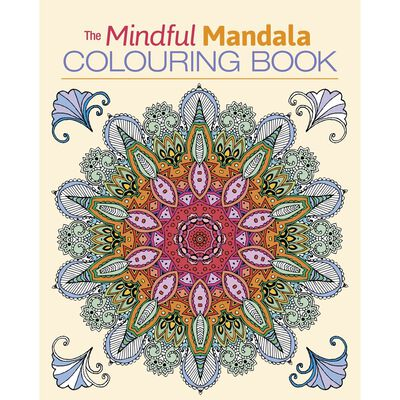 The Mindful Mandala Colouring Book image number 1