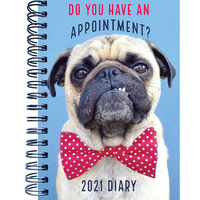 A5 Dog 2021 Week To View Diary