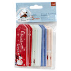 At Home with Santa Wooden Sentiment Toppers - 12 Pack image number 1