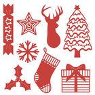 Christmas Icons Build a Scene Metal Die Set image number 2