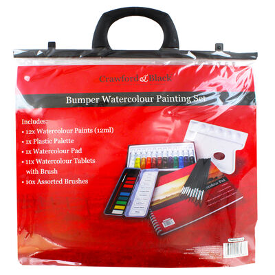 Bumper Watercolour Painting Set image number 4