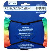Rainbow Ombre Reusable Face Mask