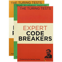 The Turing Tests - 3 Activity Books Bundle