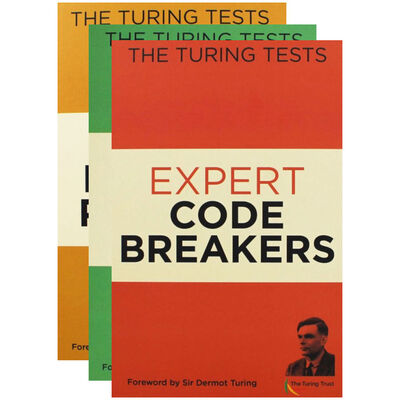 The Turing Tests - 3 Activity Books Bundle image number 1