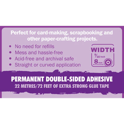 Crafters Companion Extra Strong Permanent Glue Tape Pen image number 4