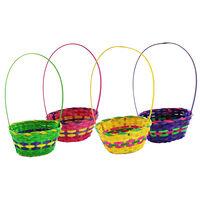 Woven Easter Egg Hunt Baskets - Bundle of 24