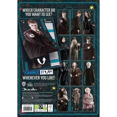 Harry Potter Change It Up Official A3 Calendar 2021   The ...