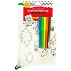 Colour Your Own Dinosaur Drawstring Bag image number 1