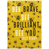 A5 Bee Brave Week to View Diary