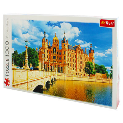Schwerin Palace 1000 Piece Jigsaw Puzzle image number 3