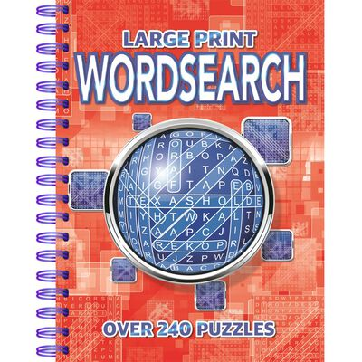 Large Print Wordsearch: Over 240 Puzzles image number 1