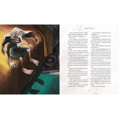 Harry Potter and the Chamber of Secrets: Illustrated Edition image number 2