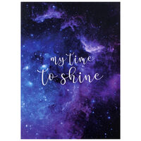 A4 My Time To Shine Soft Cover Notebook