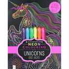Kaleidoscope Neon Colouring: Unicorns and More image number 1
