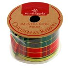 Assorted Red and Gold Christmas Ribbon - 4m image number 3