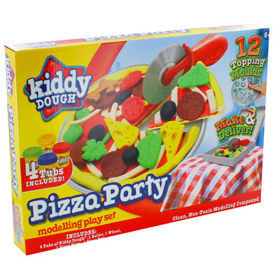 Pizza Party Modelling Dough Play Set image number 1
