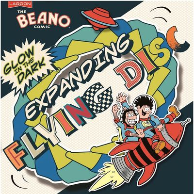 Beano Glow in the Dark - Flying Disc image number 1