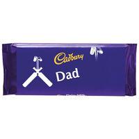 Cadbury Dairy Milk Chocolate Bar 110g - Dad Cricket