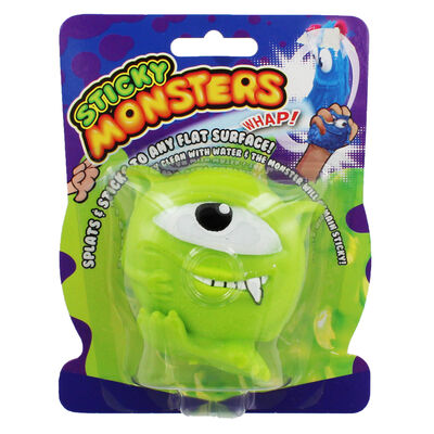 Green Sticky Stretch Monster Ball image number 1
